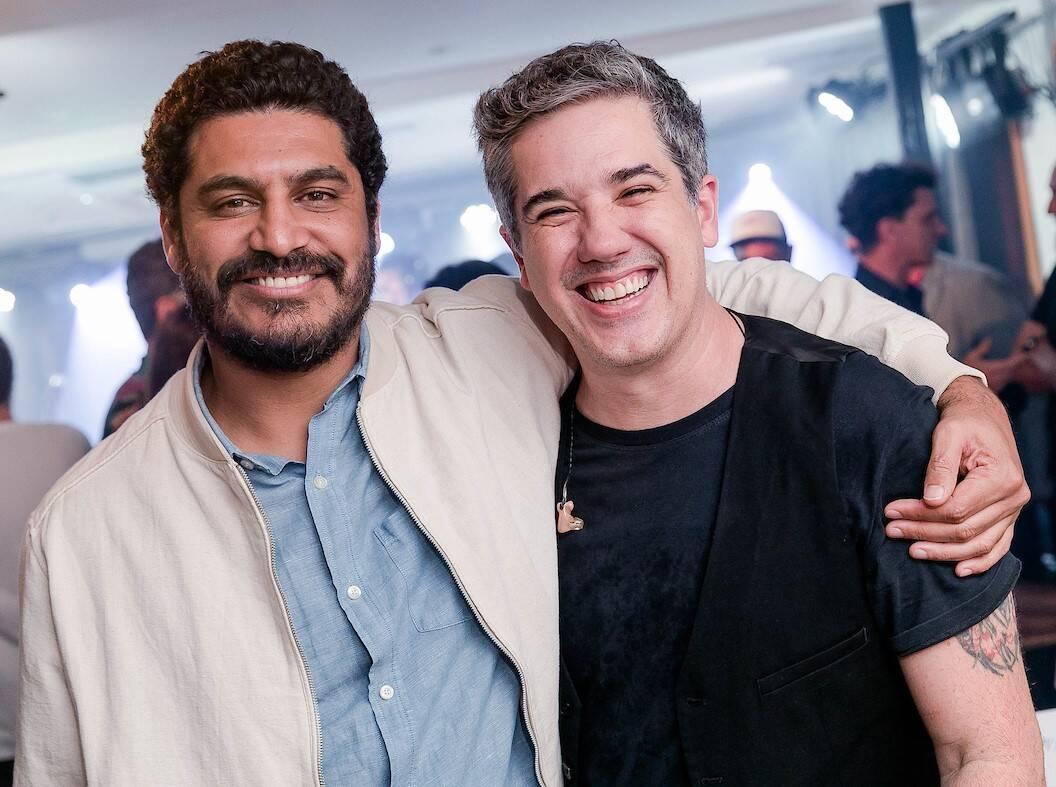 Criolo e Rogerio Flausino /Foto: Bruno Ryfer e Miguel Sá