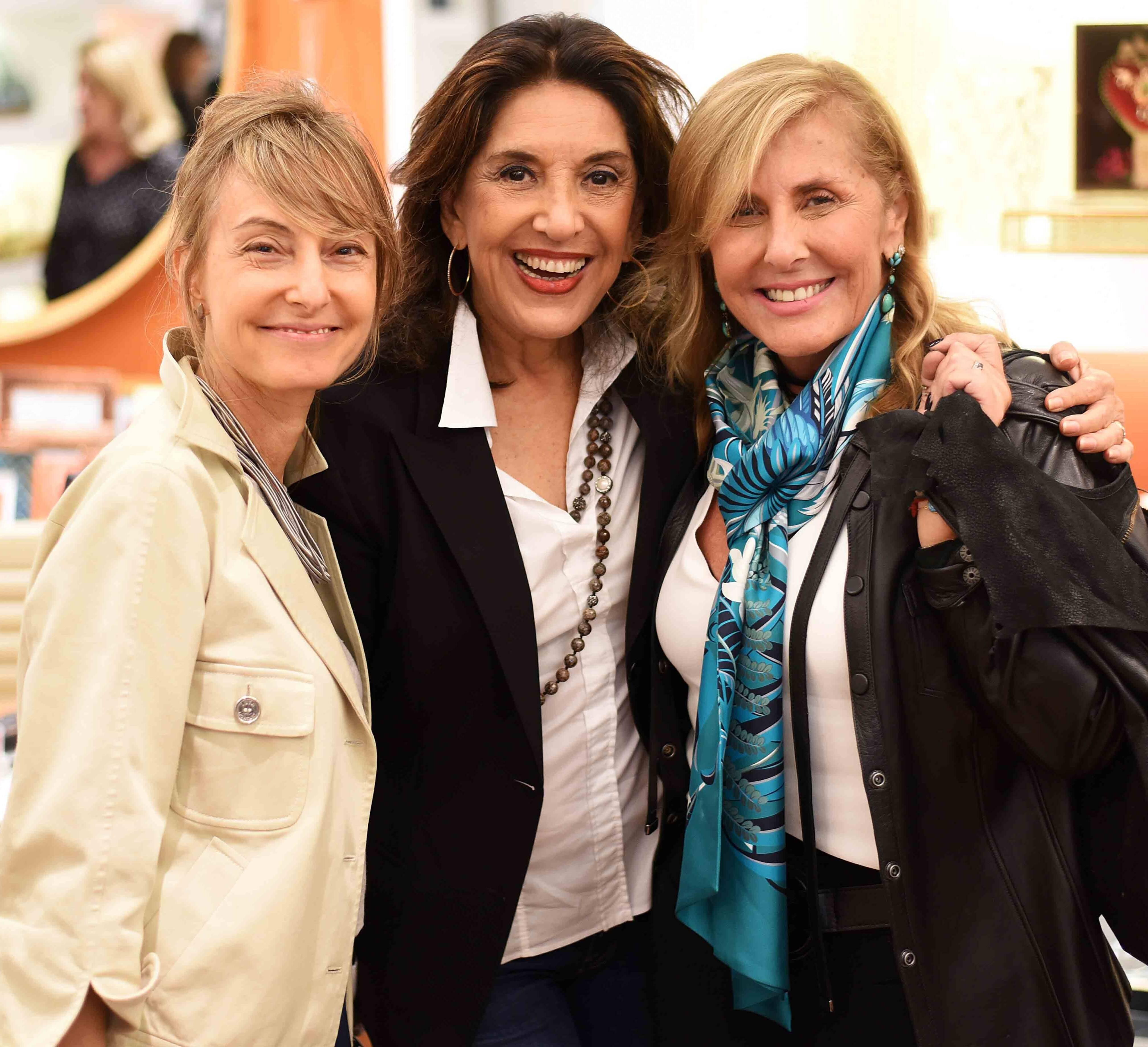 Patricia Marinho, Ana Lucia Cavalcanti e Patricia Hall /Foto: Ari Kaye