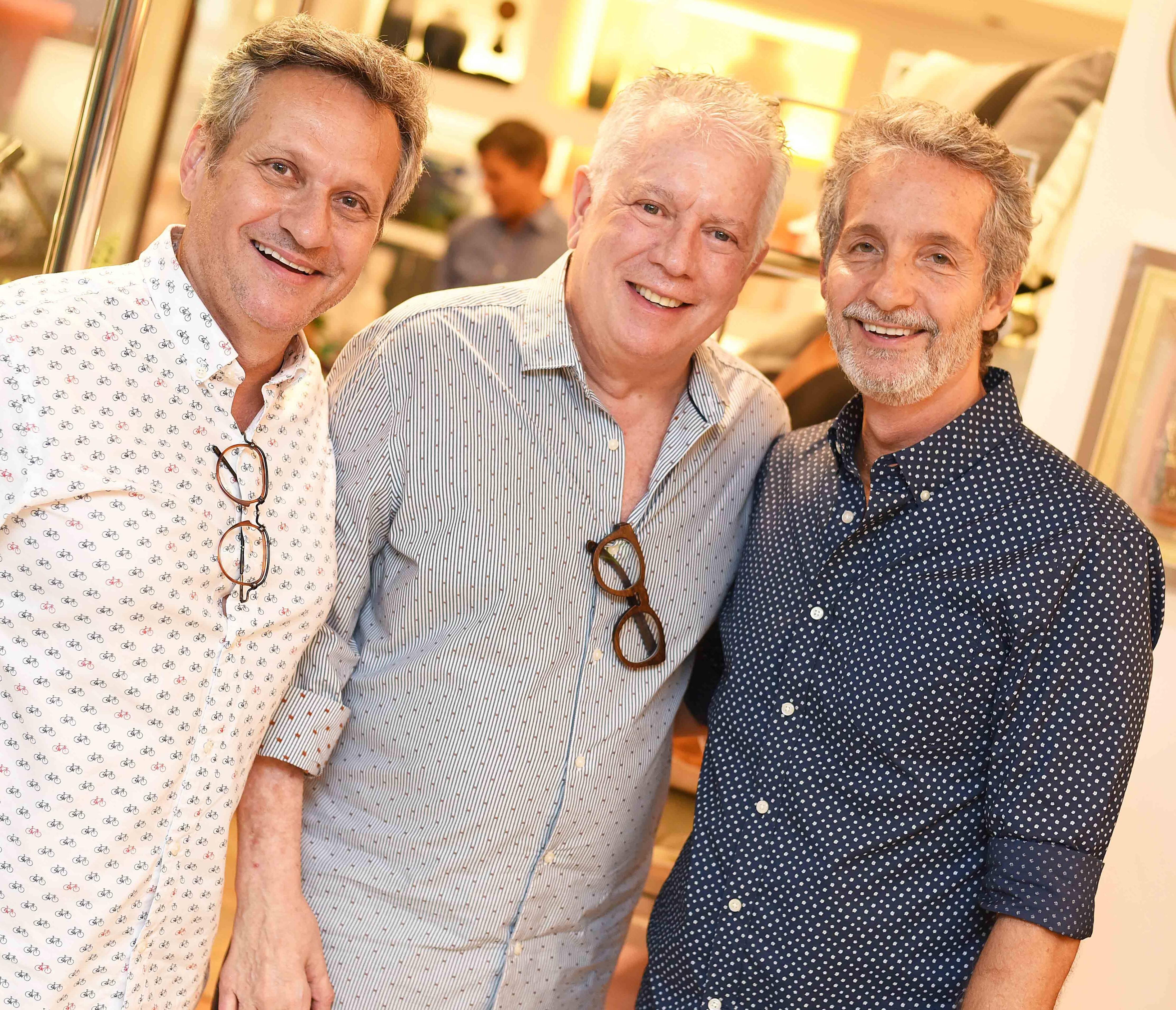 Paulo Reis, Chicô Gouvêa e Pedro Guimarães /Foto: Ari Kaye