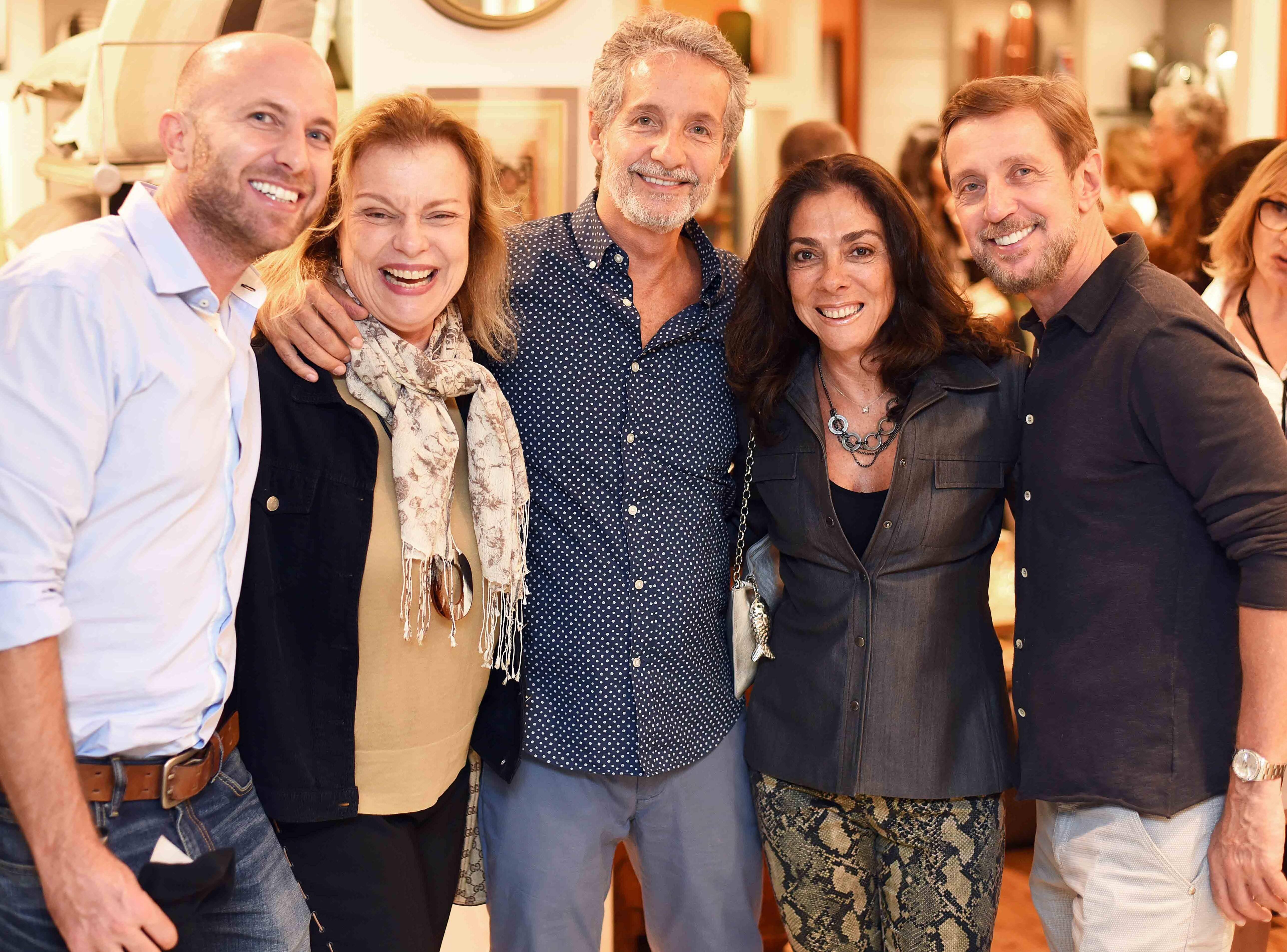 Stefan Ganglberger, Laura Burnier, Pedro Guimarães, Ana Luiza Rego e Nando Grabowsky /Foto: Ari Kaye