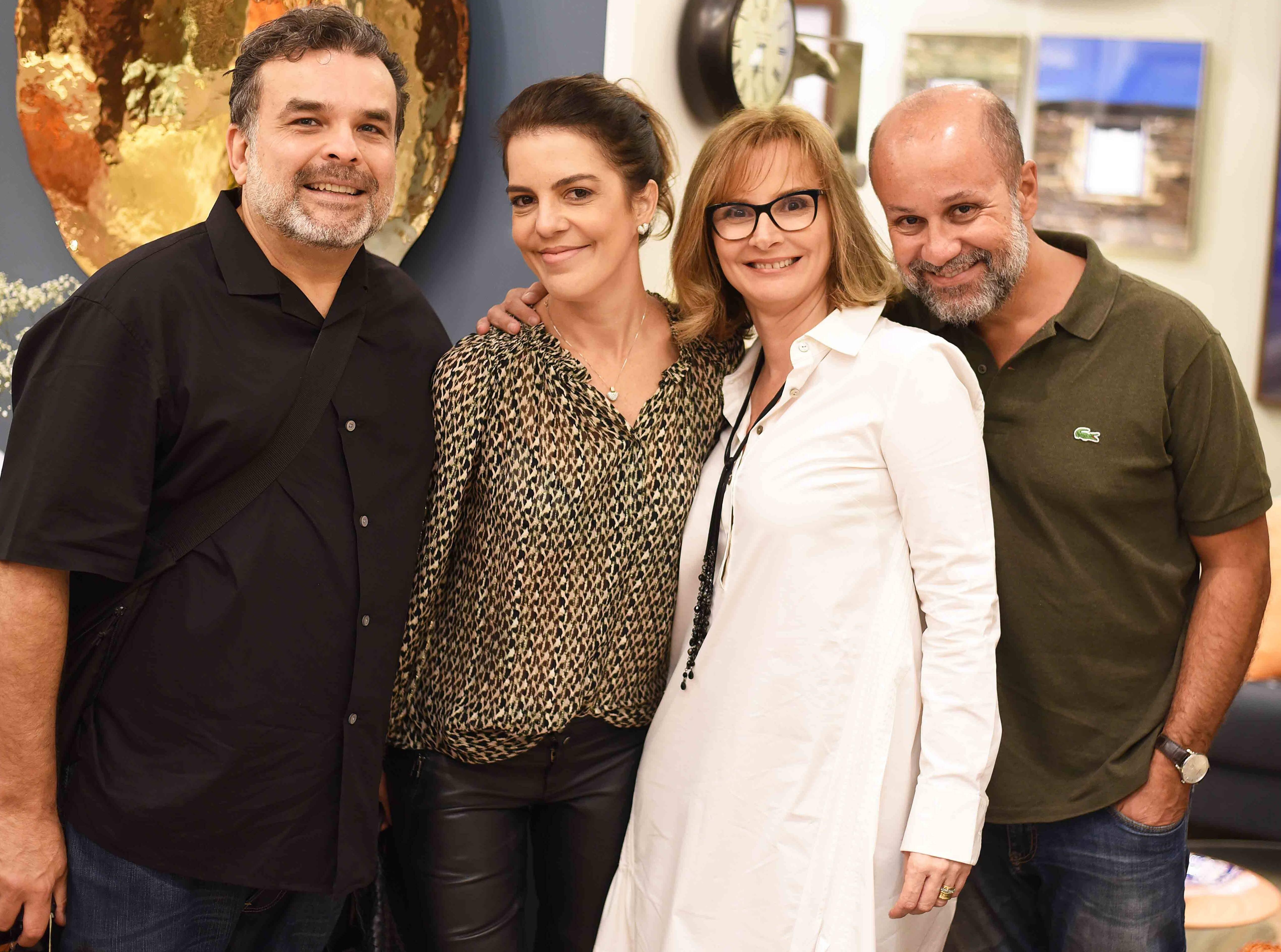 Ariosto Amado, Mariana Gross, Miriam D´aquino Amado e Guilherme Schiller /Foto: Ari Kaye