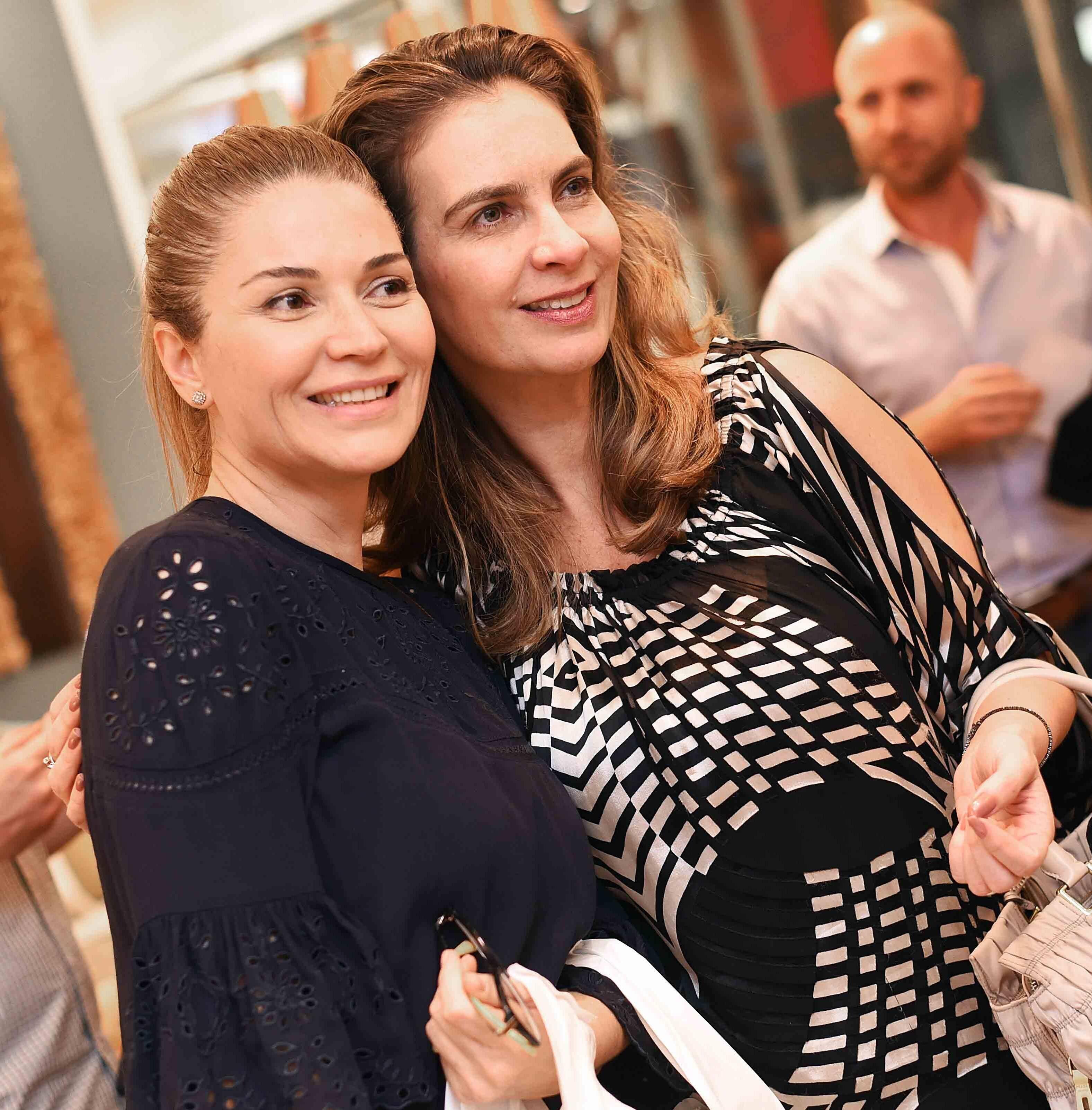 Dani Correa e Renata Labruna /Foto: Ari Kaye