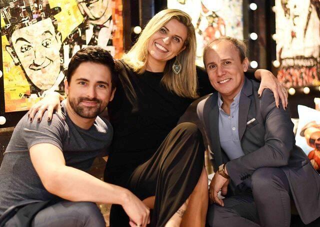 Anderson Thives, Natalia Veronezi e Marlon Castello Branco