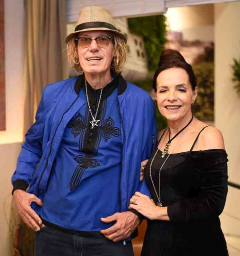 Eduardo Dusek e Nancy Martins
