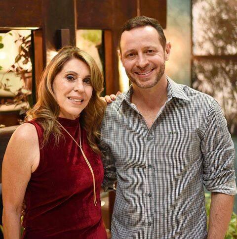 Ligia Schuback e Marcelo Guidine