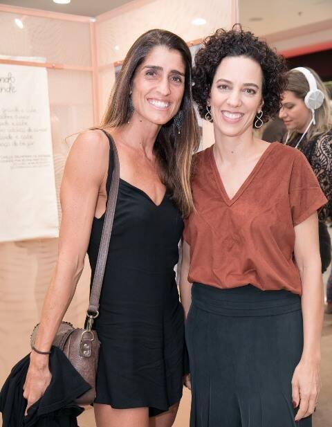 Cynthia Howlett e Mariana Lima