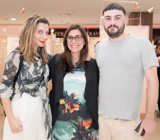 Renata Reis, Adriana Alves e Igor Fidalgo