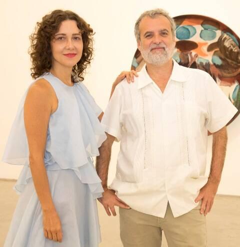 Adriana Varejão e Pedro Buarque de Hollanda