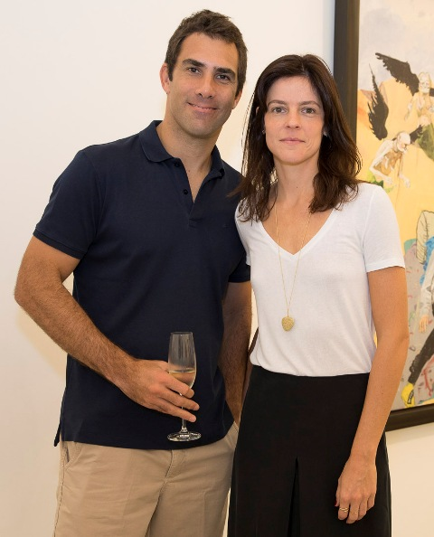 Adriano Castelo e Cecília Fortes