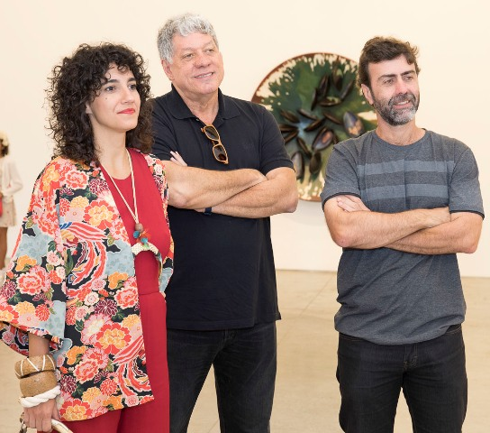 Antônia Pellegrino, Antônio Grassi e Marcelo Freixo