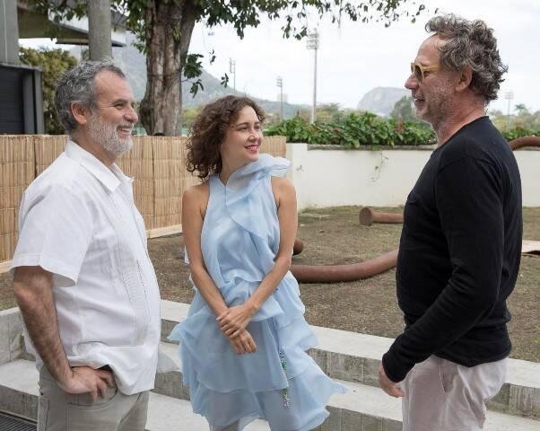 Pedro Buarque de Hollanda, Adriana Varejão e Oskar Metsavaht