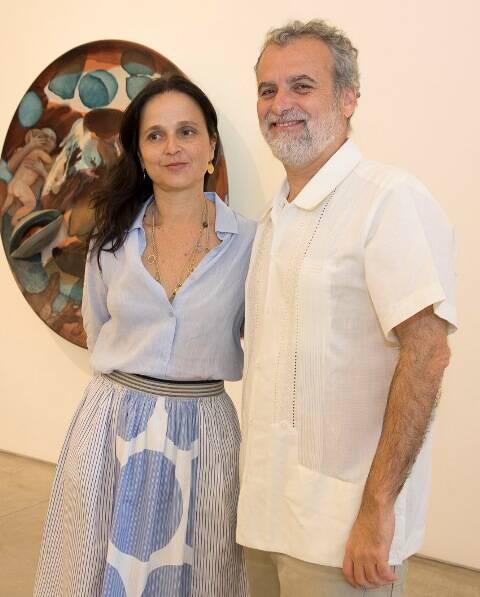 Mari Stockler e Pedro Buarque de Hollanda