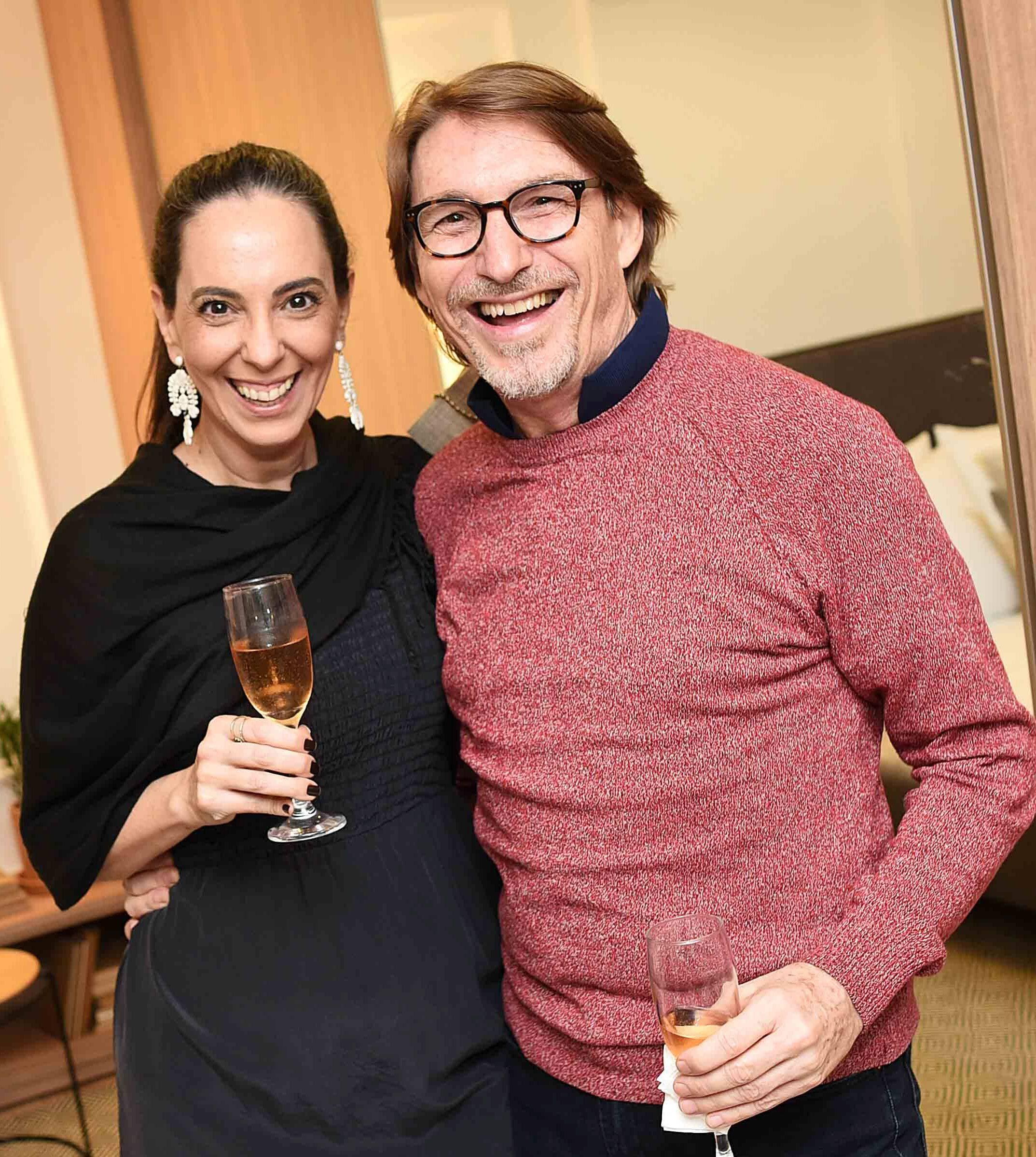 Adriana Canton e Francisco Amorim /Foto: Ari Kaye