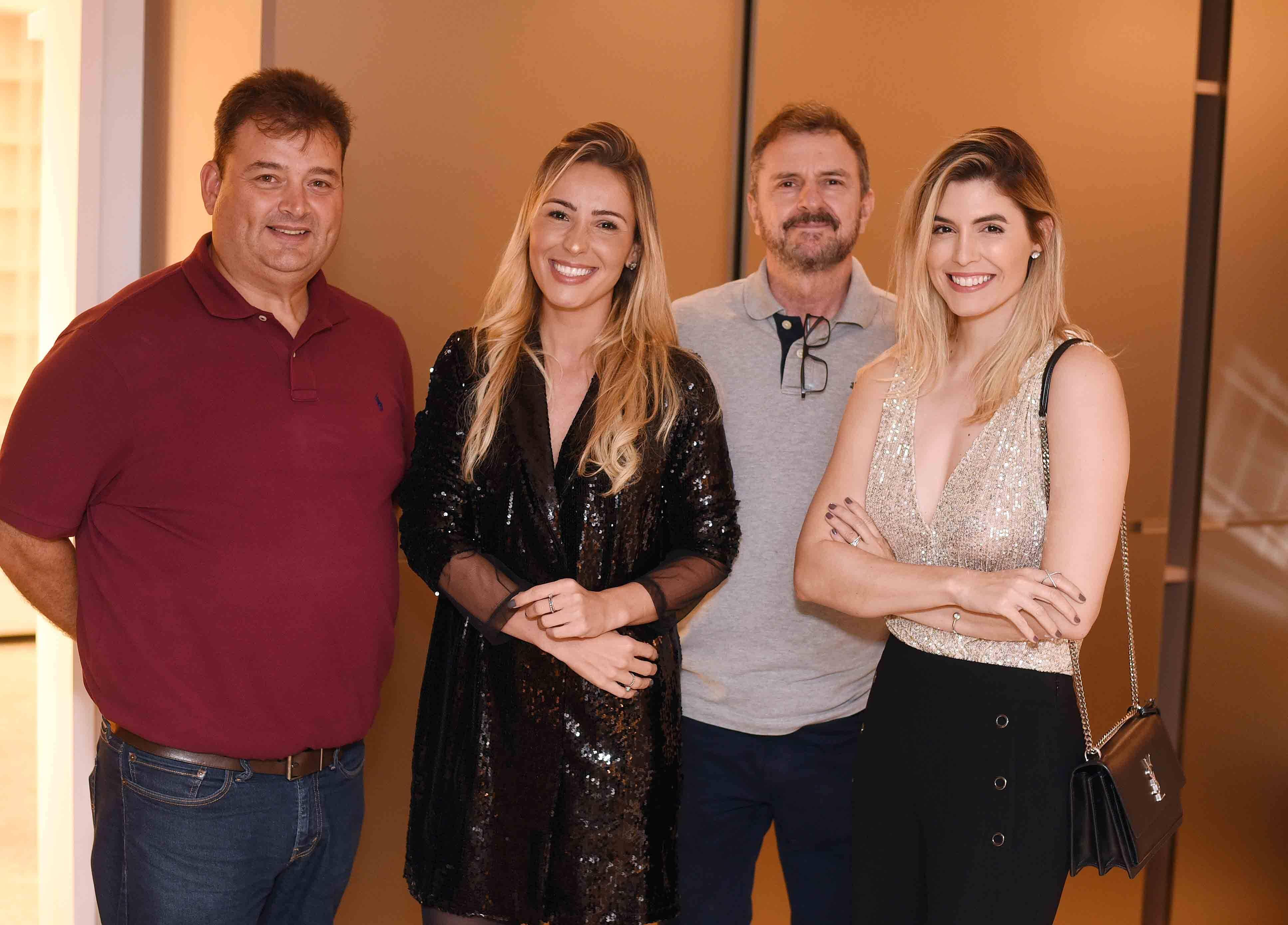 Bruno Marcolini, Bethania Rocha e Aline Celles  /Foto: Ari Kaye