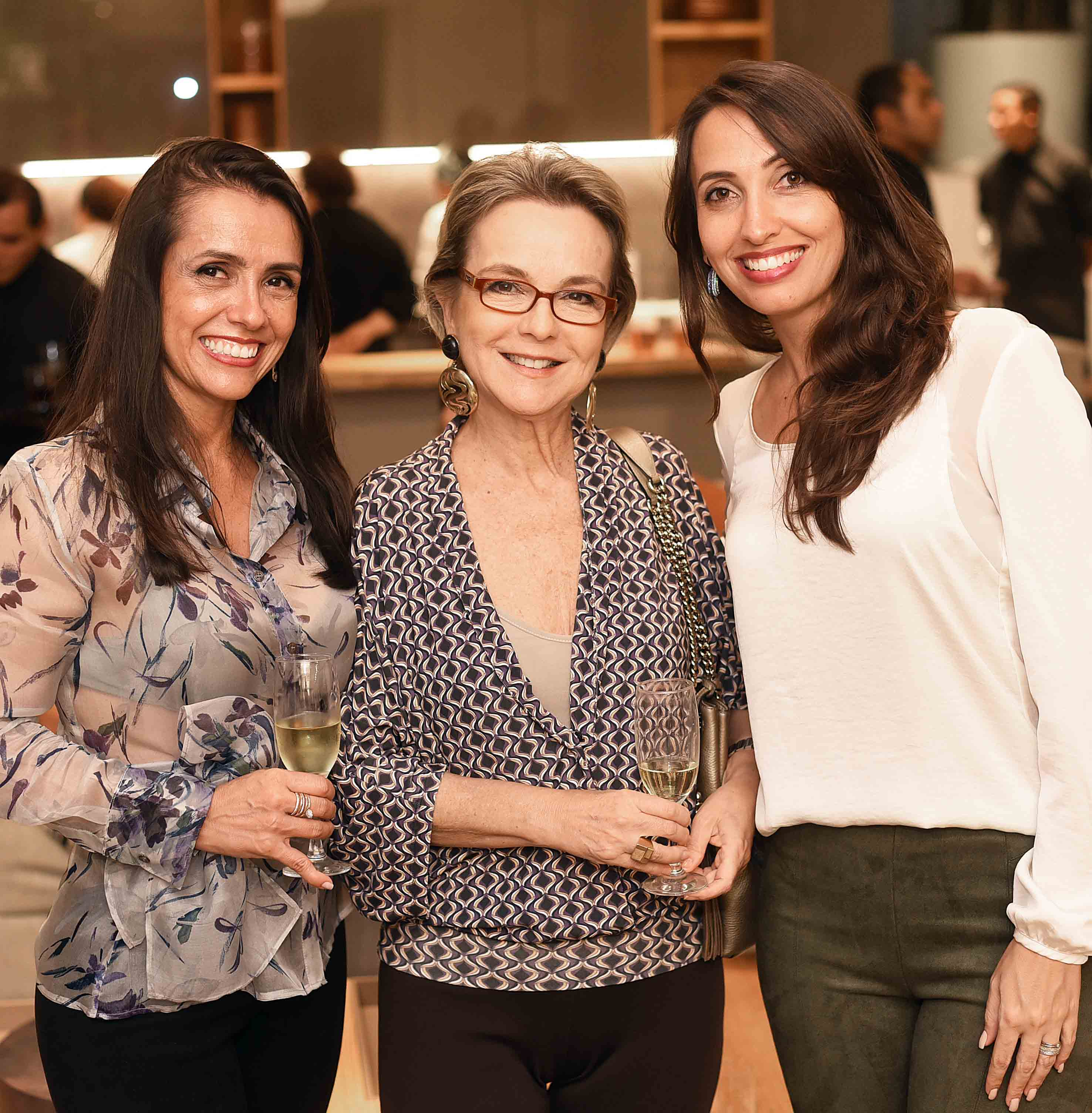 Cassia Lima, Bia Lettiere e Lia Dinallo  /Foto: Ari Kaye