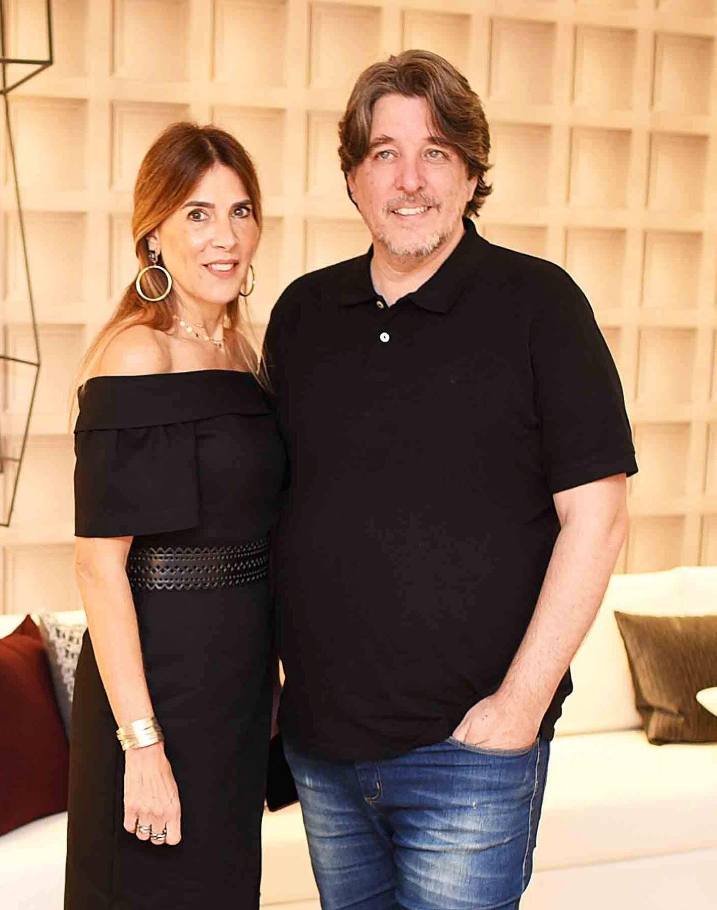 Claudia Souza Santos e Guilherme Osborne  /Foto: Ari Kaye