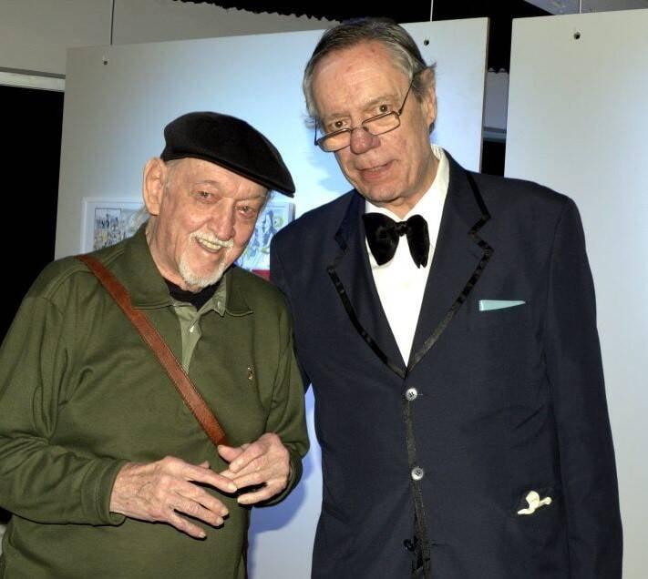 Jaguar e Paulo Caruso /Foto: Cristina Granato