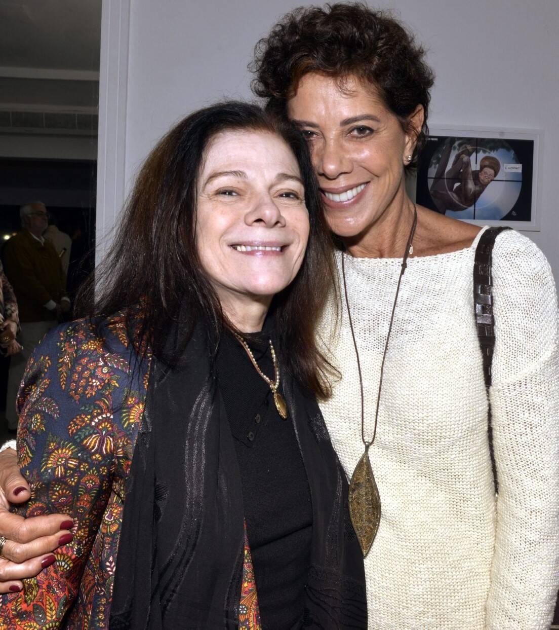 Tessy Callado e Angela Vieira /Foto: Cristina Granato