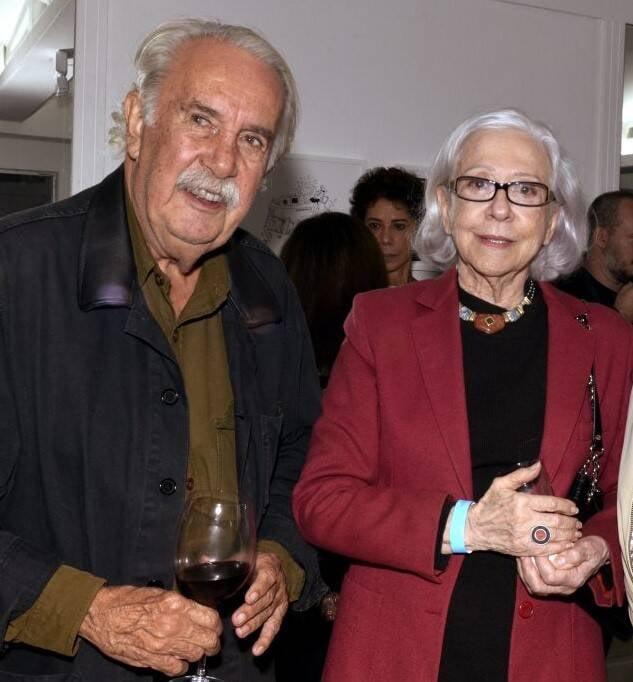 Carlos Vergara e Fernanda Montenegro /Foto: Cristina Granato