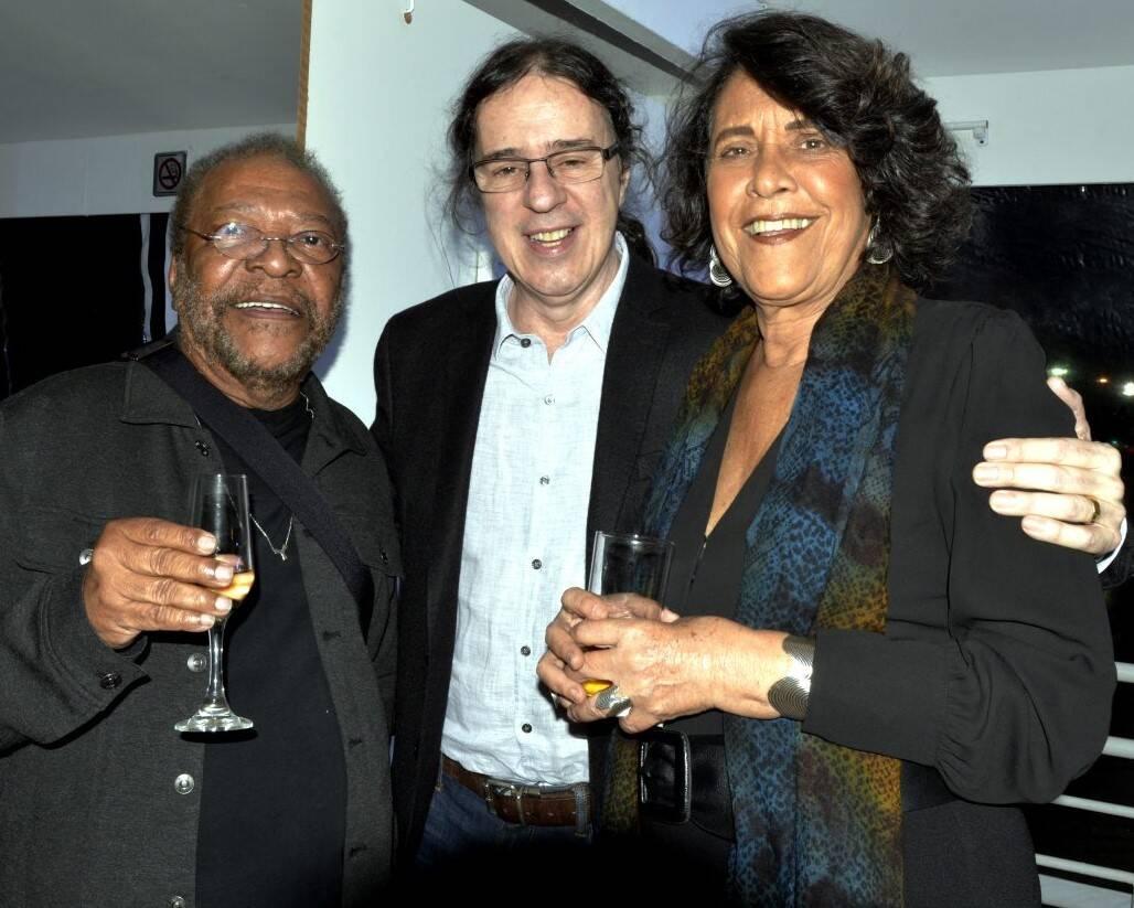 Martinho da Vila, Geraldo Carneiro e Eliana Caruso /Foto: Cristina Granato