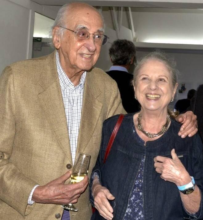 Zuenir e Mary Ventura /Foto: Cristina Granato