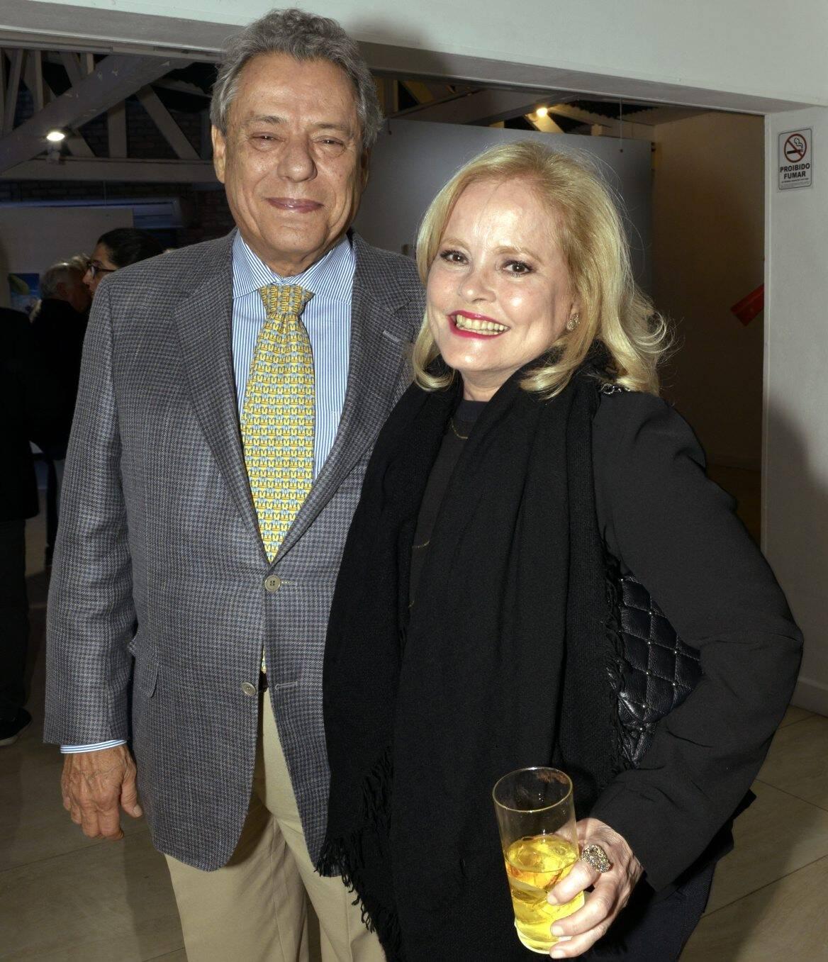 Técio e Regina Lins e Silva /Foto: Cristina Granato