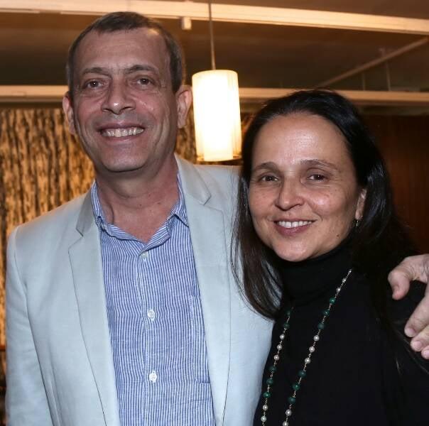 Carlito Carvalhosa e Mari Stockler