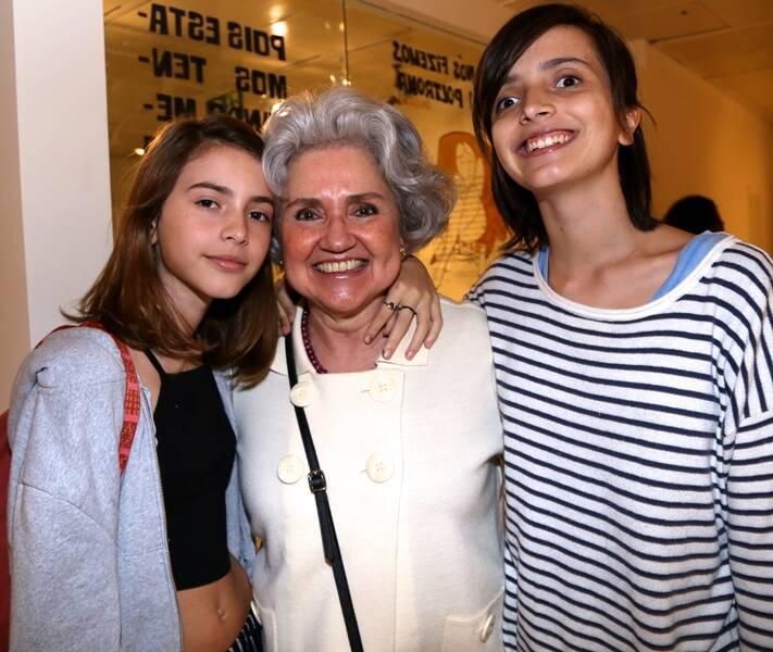 Cecilia Carvalhosa, Mariana do Valle Pereira e Maria Carvalhosa