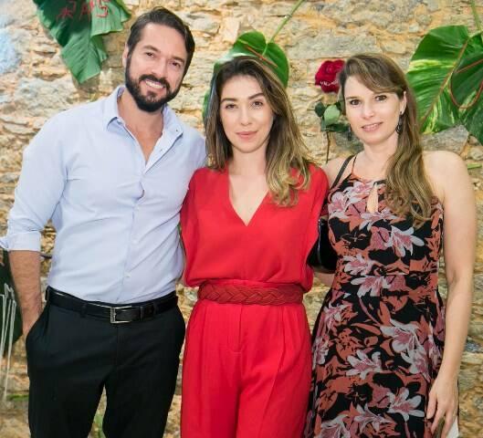 Anderson Machado, Paula Costa e Larissa Dadalto