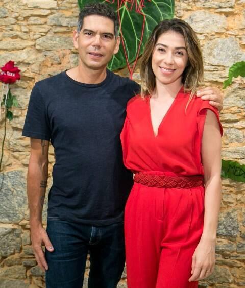 Dado Villa-Lobos e Paula Costa