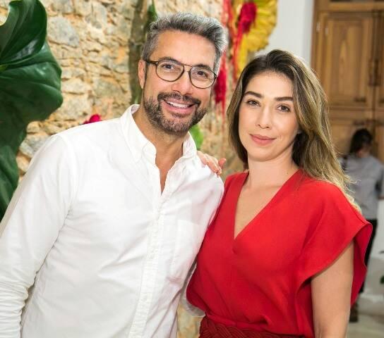 Fernando Torquatto e Paula Costa