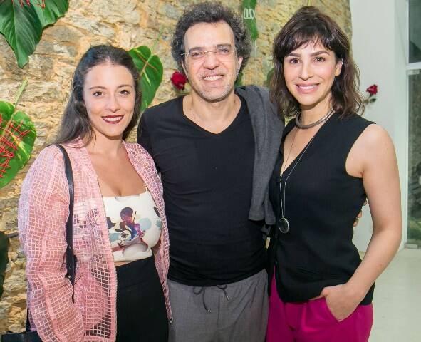 Gabi Gianni, Paulinho Moska e Larissa Bracher