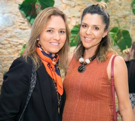 Magali Lopes Muniz e Rafaela Cardoso