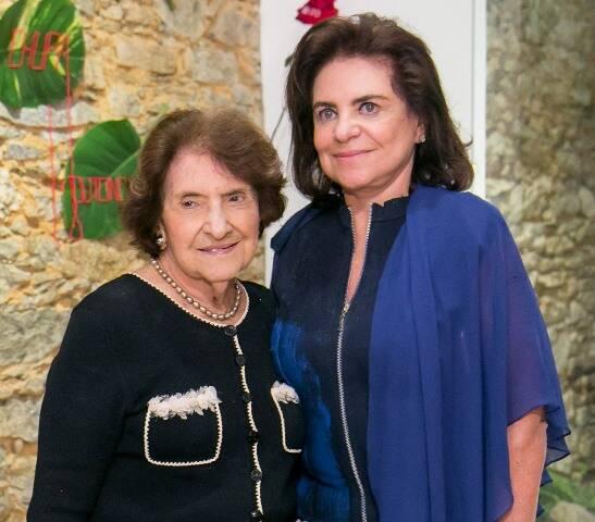 Olga de Araújo Pereira e Cristina Burlamaqui