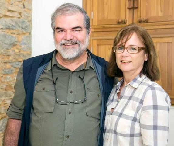 Sérgio e Carol de Araújo Pereira