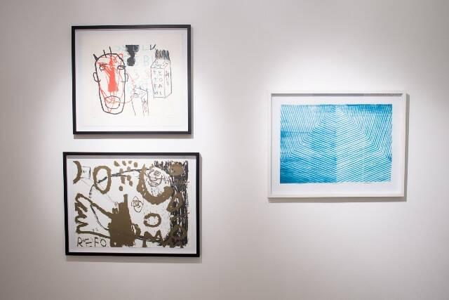 Alguns dos trabalhos de Alexandre Salgado e Ana Camurri