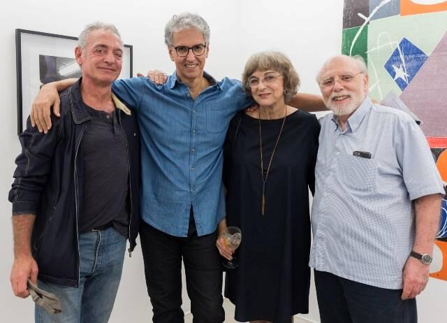 Eric Coletar, Amador Perez, Vera Bernardes e Sérgio Gost