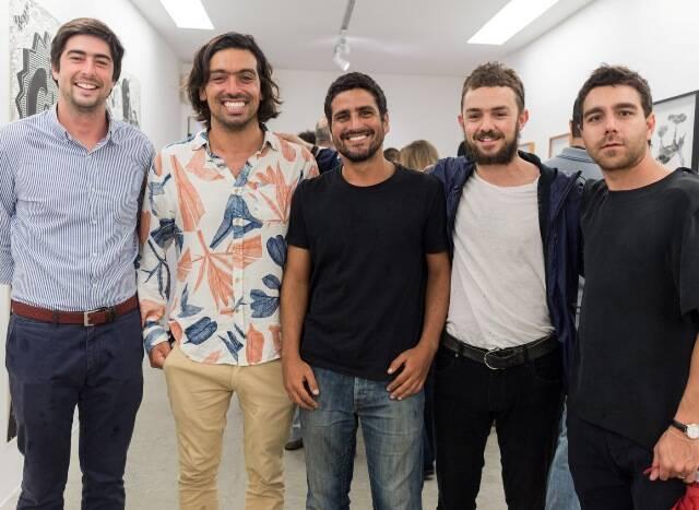 Manuel, Daniel Cabeça, Luis Blanco, Alexandre Baltazar e Demian Jacob