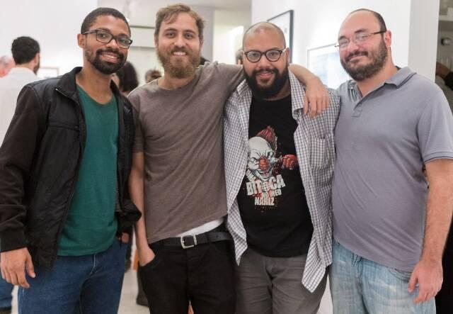Wallace Amaral, Daniel Veloso, Rodrigo Porto e Franco Salvoni