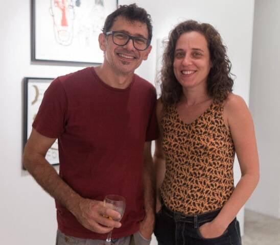 Mario Grisolli e Natali Tubenchlak