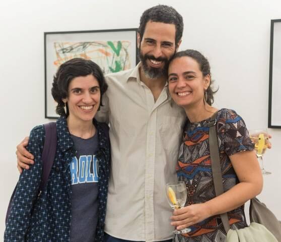 Carolina Durão, João Sanches e Gabriela Marcondes