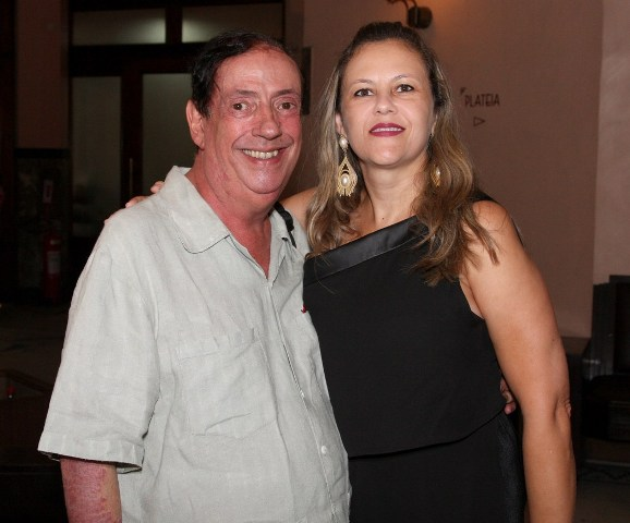Marcos Oliveira e Simone Galiano