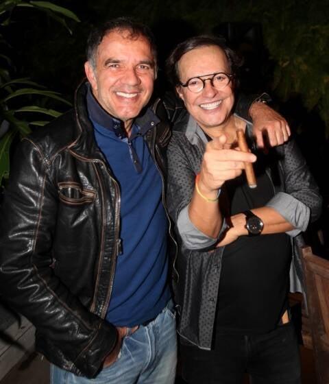 Humberto Martins e Wolf Maya