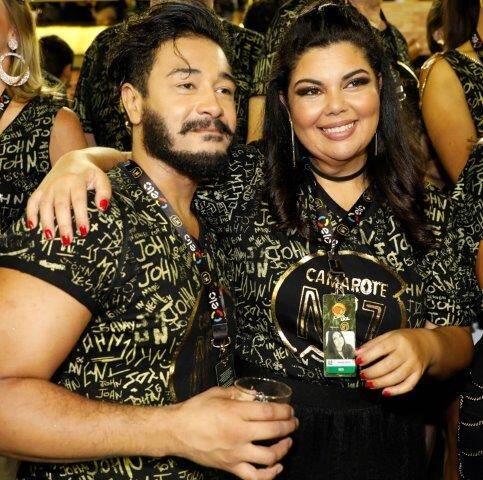 Diogo Melo e Fabiana Karla