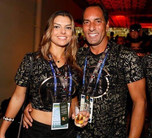 Ana Luiza Real e Edmundo
