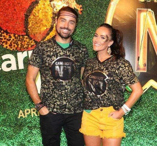 Ricardo Pereira e Francisca Pinto