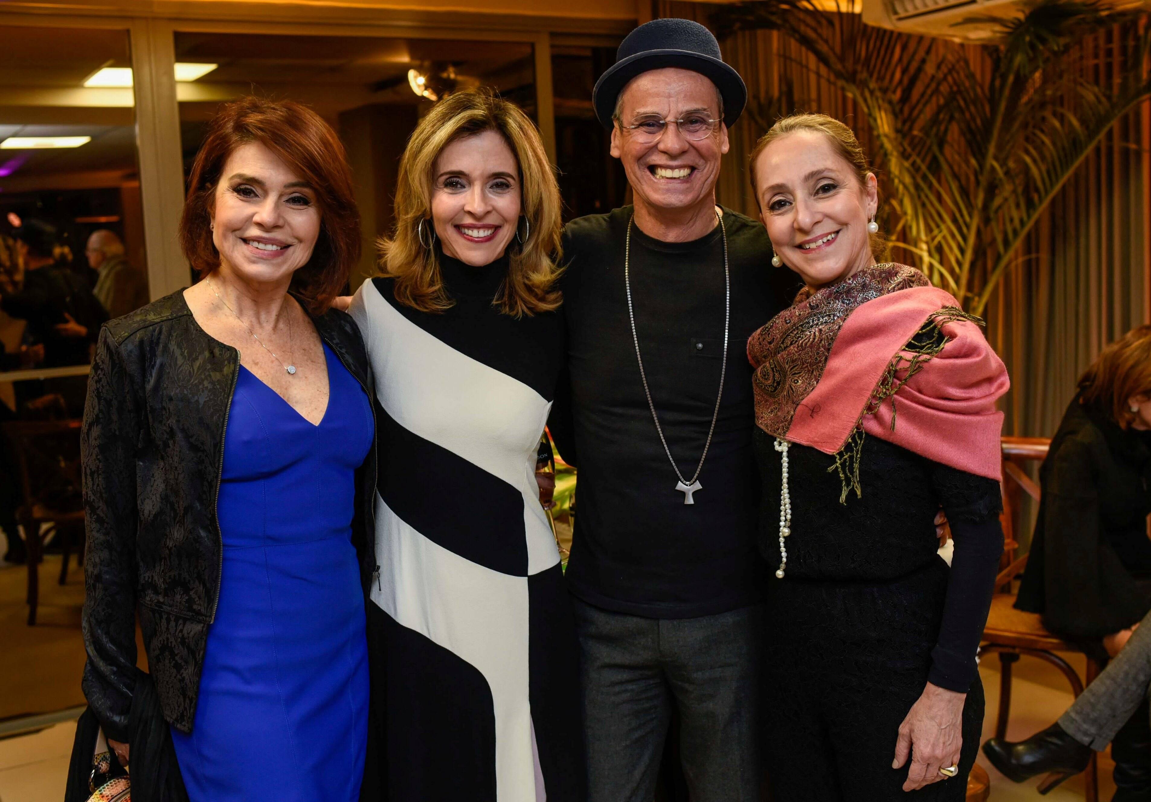 Françoise Forton, Deborah Evelyn, Carlinhos de Jesus e Ana Botafogo /Foto: Mariama Prieto