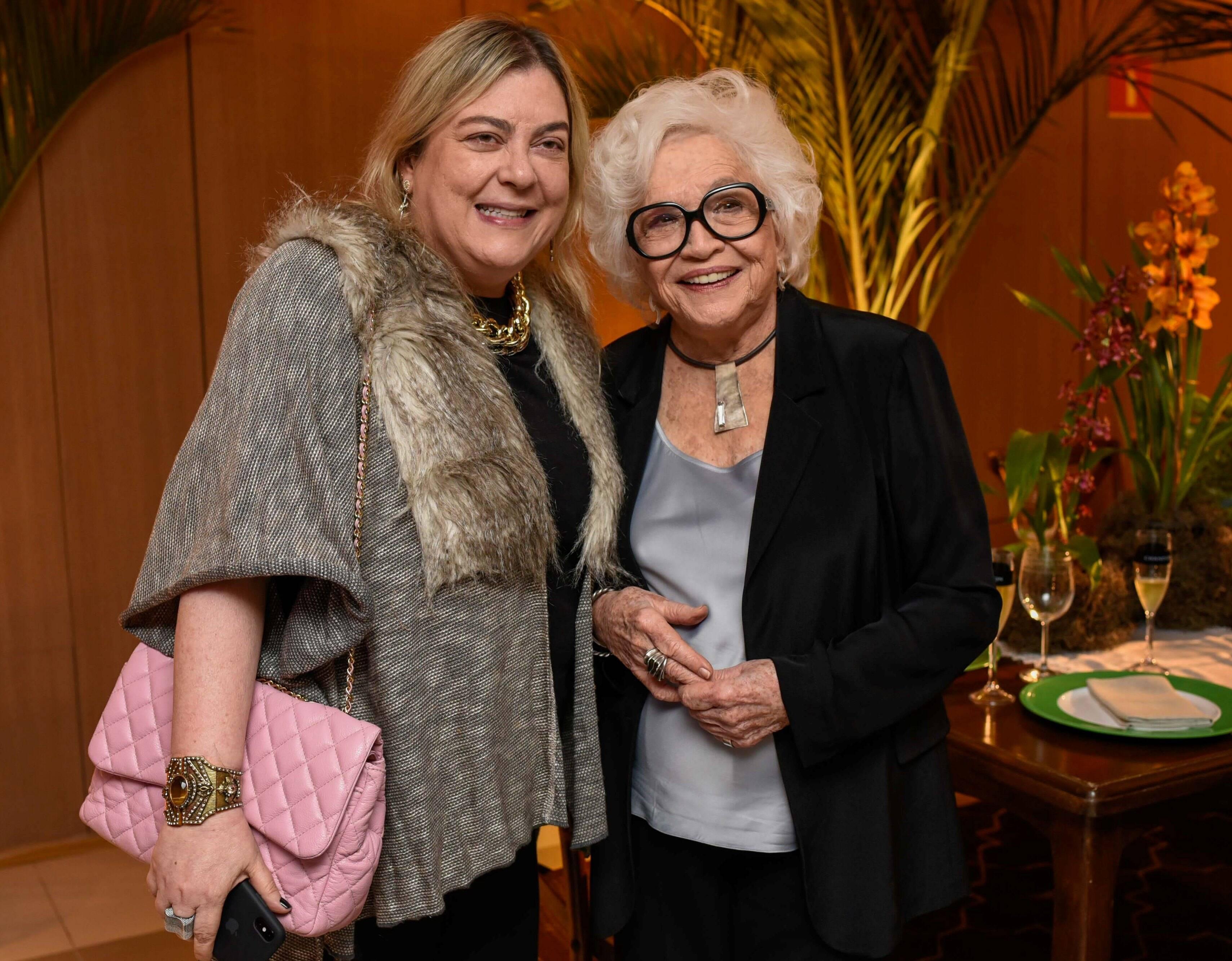 Heloisa Tolipan e Nathália Timberg  /Foto: Mariama Prieto