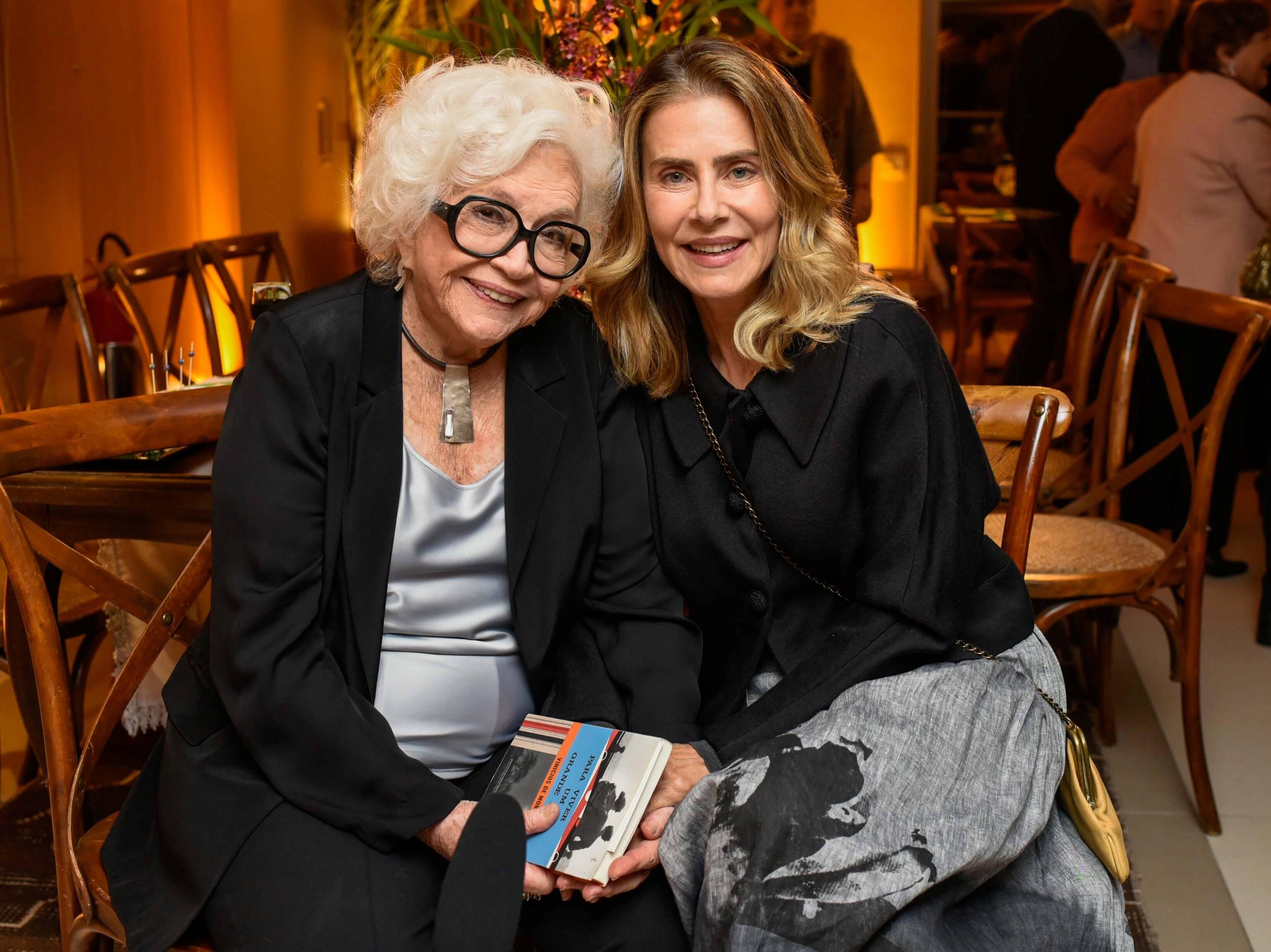 Nathália Timberg e Maite Proença  /Foto: Mariama Prieto
