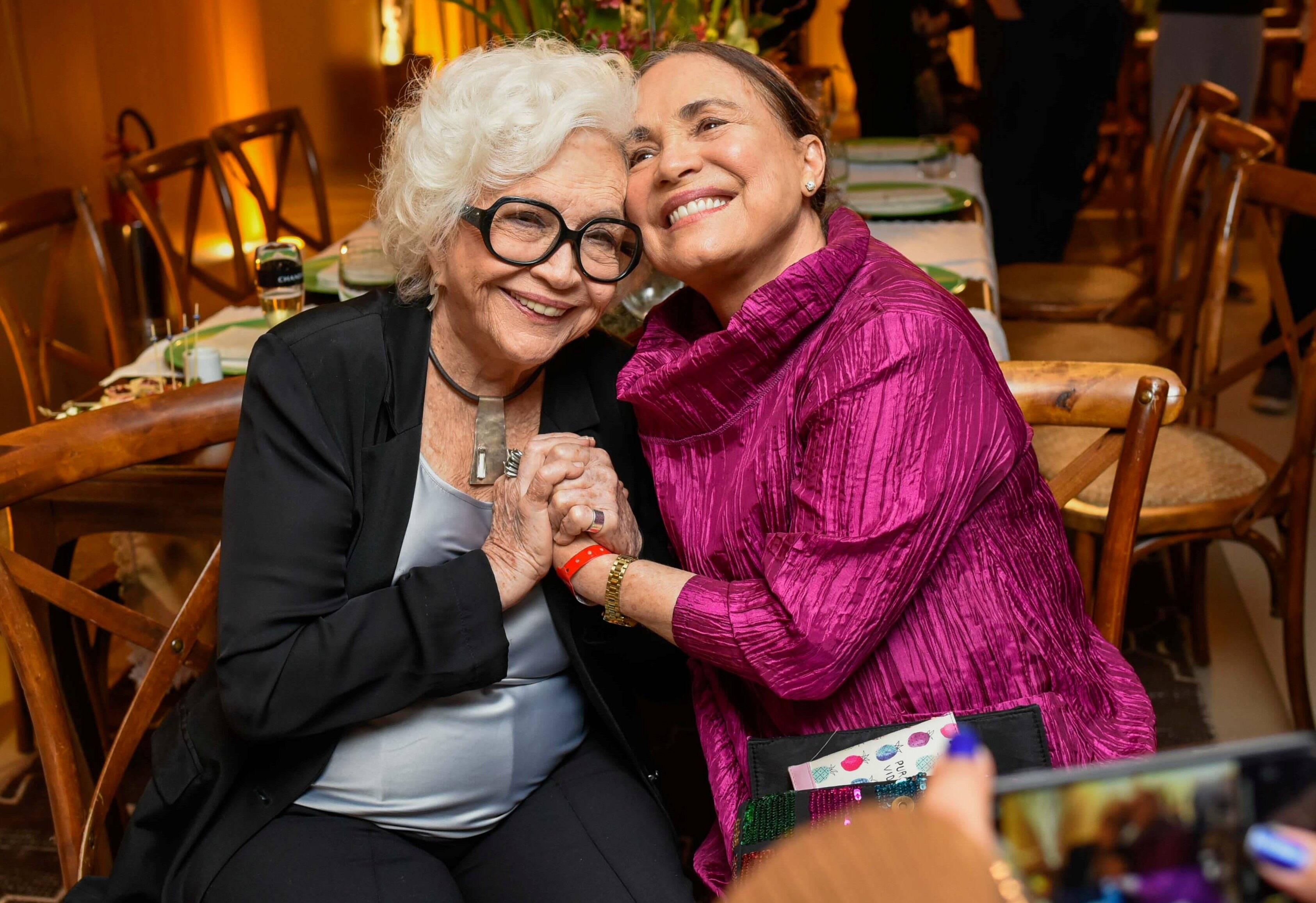 Regina Duarte e Nathália Timberg  /Foto: Mariama Prieto